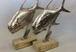 Grand Champion sculptures by Chris Bladen
